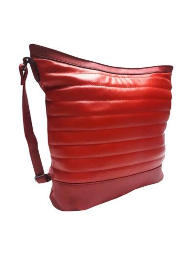 Crossbody kabelka se třpytkami Tapple H16127-1 červená přední strana