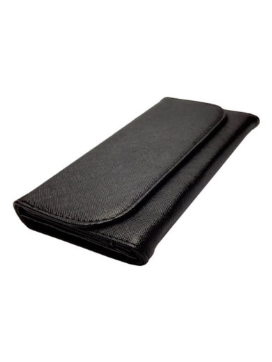 Dámská peněženka odolná poškrábání Tapple 1004 černá přední strana