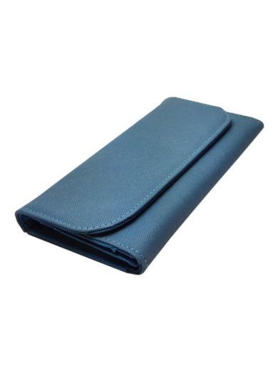 Dámská peněženka odolná poškrábání Tapple 1004 světle modrá přední strana