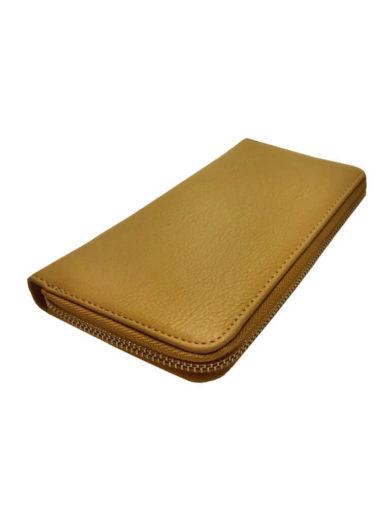 Dámská peněženka z jemné eko kůže Tapple 1060-3 béžová přední strana