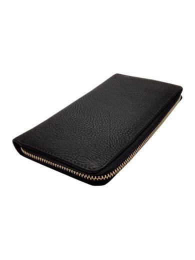 Dámská peněženka z jemné eko kůže Tapple 1060-3 černá přední strana