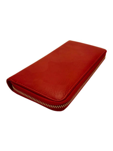 Dámská peněženka z jemné eko kůže Tapple 1060-3 červená přední strana