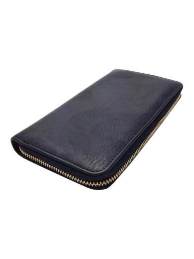 Dámská peněženka z jemné eko kůže Tapple 1060-3 tmavě modrá přední strana