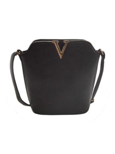 Elegantní crossbody kabelka Tapple Z-10 černá přední strana