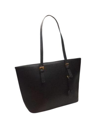 Moderní kabelka, kterou nepoškrábete Tapple Z-8006 černá přední strana