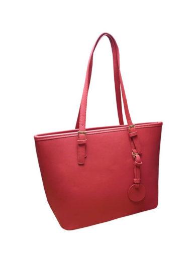 Moderní kabelka, kterou nepoškrábete Tapple Z-8006 červená přední strana