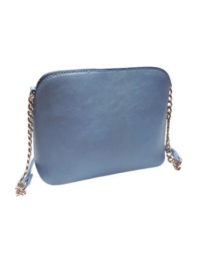 Pevná crossbody kabelka Tapple Z-13 světle modrá přední strana