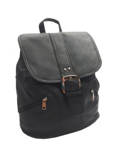 Stylový dámský kabelko-batoh Tapple 5811 černý přední strana