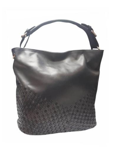 Unikátní kombinovaná kabelka Tapple 3091 černá přední strana