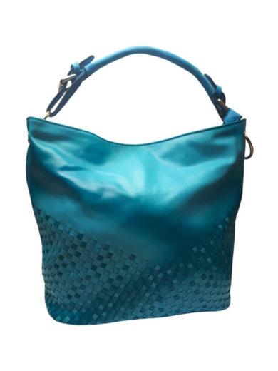 Unikátní kombinovaná kabelka Tapple 3091 středně modrá přední strana