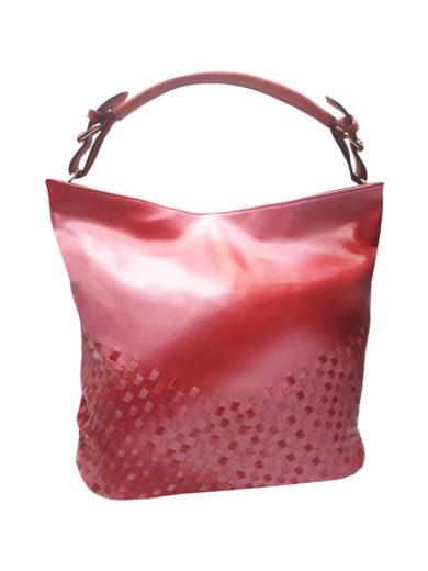 Unikátní kombinovaná kabelka Tapple 3091 středně růžová přední strana
