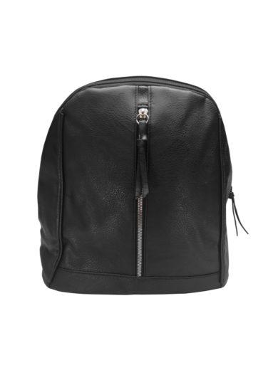 Elegantní dámský batoh z eko kůže Tapple H17438 černý přední strana