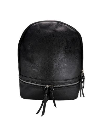 Moderní dámský batoh Tapple H17388 černý přední strana