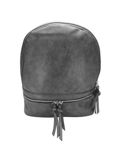 Moderní dámský batoh Tapple H17388 tmavě šedý přední strana