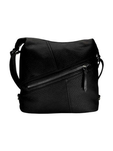 Velký dámský kabelko-batoh z eko kůže Tapple H18077 černý přední strana